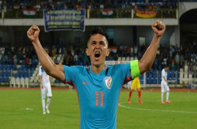 Sunil Chhetri named AIFF Player of Year for sixth time