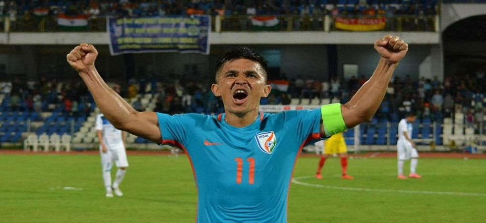 Sunil Chhetri named AIFF Player of Year for sixth time (Image Credit: Twitter)
