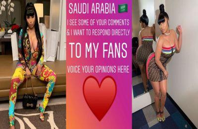 Nicki Minaj pulls out Jeddah World Fest over women's rights concerns