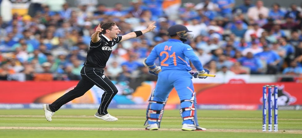 Matt Henry was in prime form and his 3/37 helped New Zealand beat India by 18 runs in the semi-final in Manchester and knock Virat Kohli's team out of the ICC Cricket World Cup 2019. (Image credit: Getty Images)