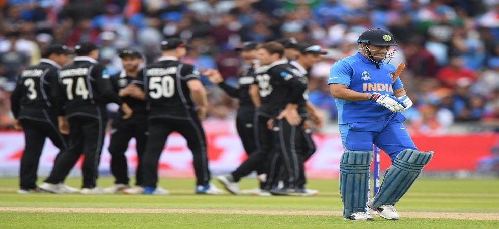 MS Dhoni was run-out at a crucial juncture and New Zealand sealed an 18-run win against India in the ICC Cricket World Cup 2019 semi-final in Manchester. (Image credit: Getty Images)