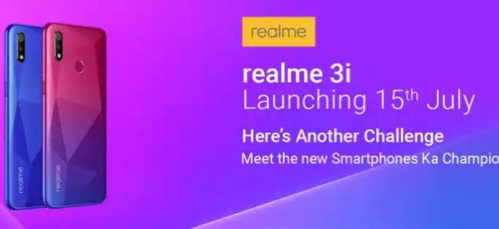 Realme 3i (Photo Credit: Flipkart)
