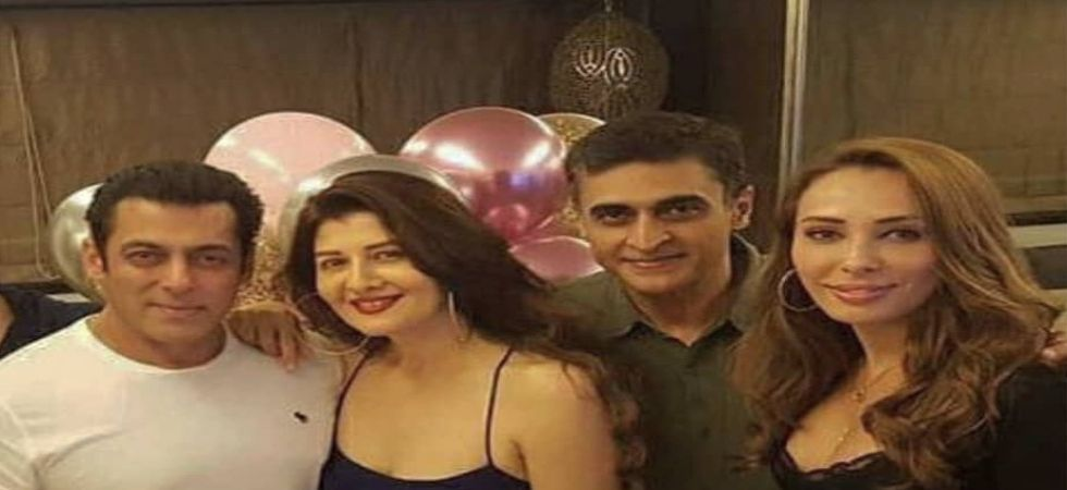 In Pics: Salman Khan rings in ex-flame Sangeeta Bijlani's 54th birthday with GF Iulia