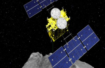 Japan's Hayabusa2 probe successfully collects first samples from asteroid interior