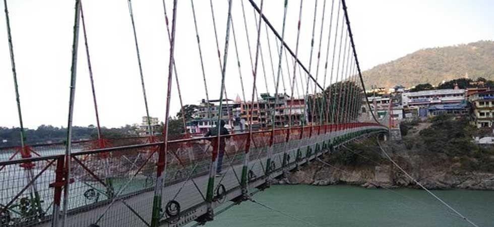 Rishikesh's iconic suspension bridge - Lakshman Jhula (File Photo)