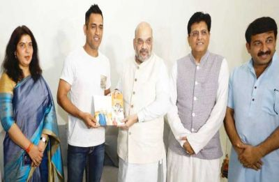 Will MS Dhoni join BJP after retirement? Former Union minister makes big claim
