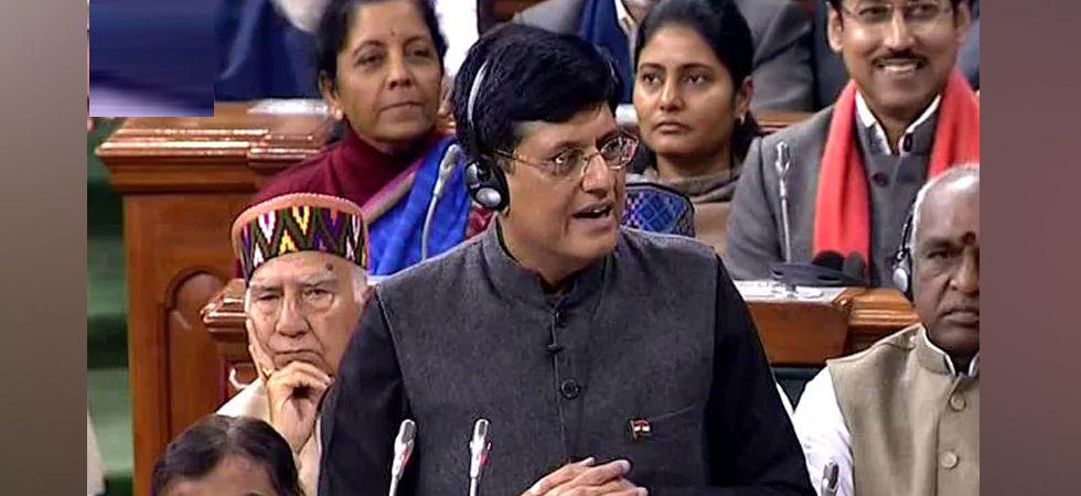Railway Minister Piyush Goyal
