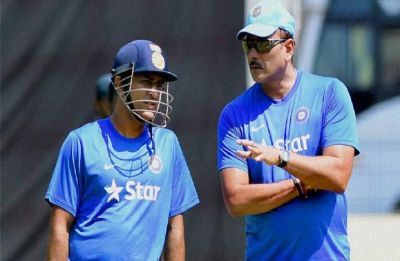 India Head Coach Ravi Shastri finally opens up why MS Dhoni was not sent ahead of Dinesh Karthik