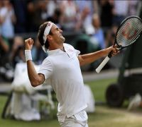 Roger Federer describes 'strange' feeling after reaching Wimbledon final with win over Rafael Nadal