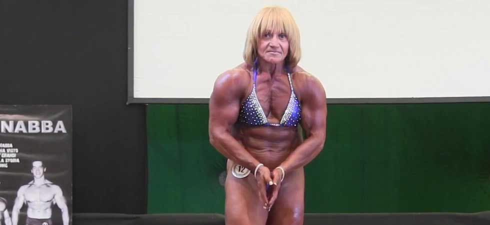 Claudine Shoval said that she started bodybuilding to show the world that she can pick herself up.