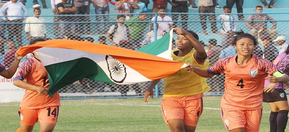 Indian women's football team jumps 6 places to 57 in FIFA rankings (Image Credit: Twitter)
