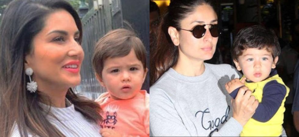 Sunny Leone's son will remind you of Taimur.