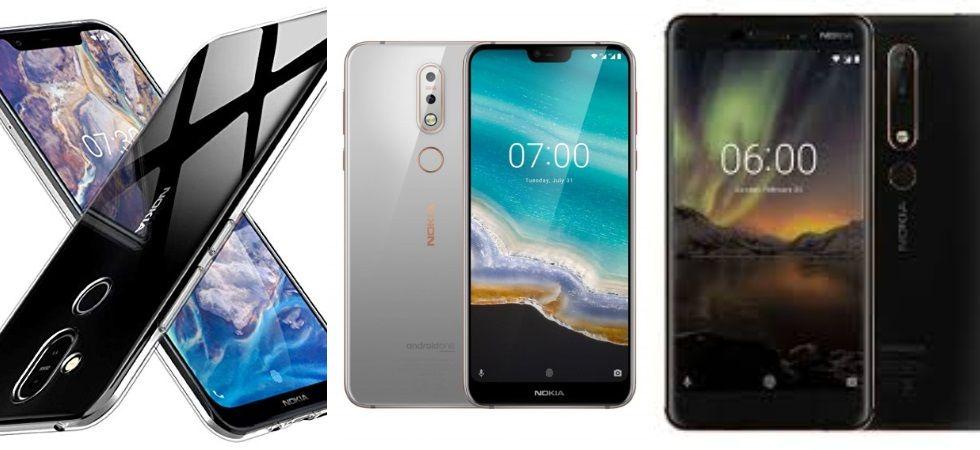 Nokia 8.1, Nokia 6.1 Plus, Nokia 7.1 (Photo Credit: Twitter)