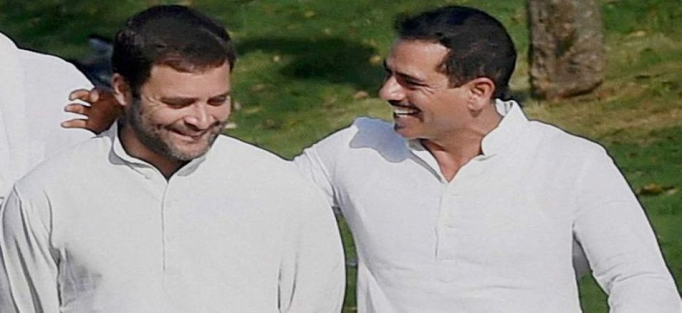 Robert Vadra with his brother-in-law Rahul Gandhi (File Photo)