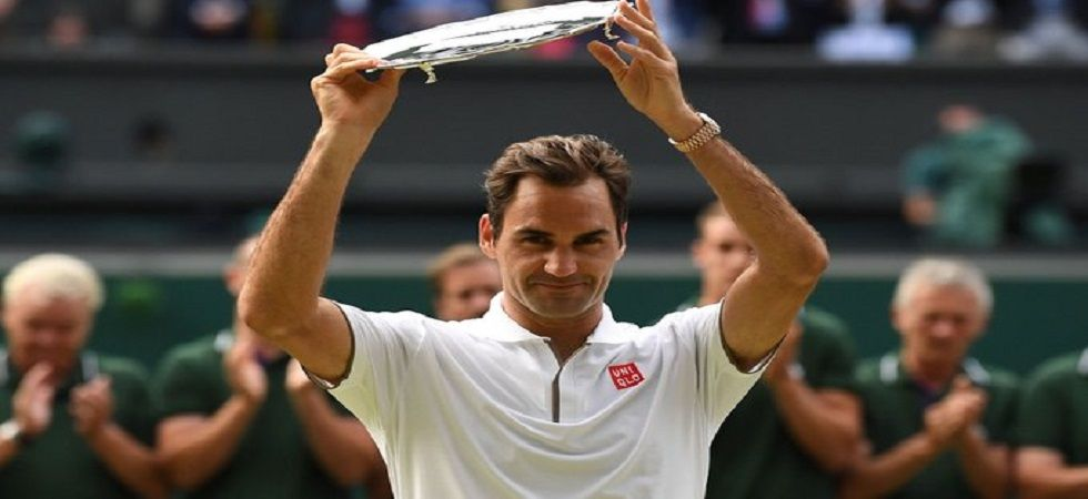 Roger Federer missed the chance to win the Wimbledon title for the ninth time after losing to Novak Djokovic in the final. (Image credit: ATP Tour Twitter)