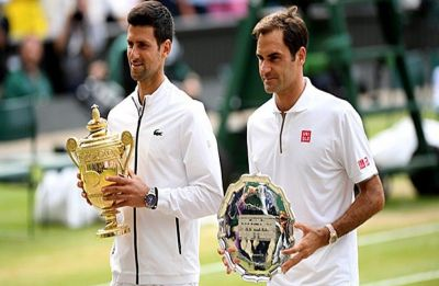 Novak Djokovic saves two match points, beats Roger Federer in final to clinch fifth Wimbledon title