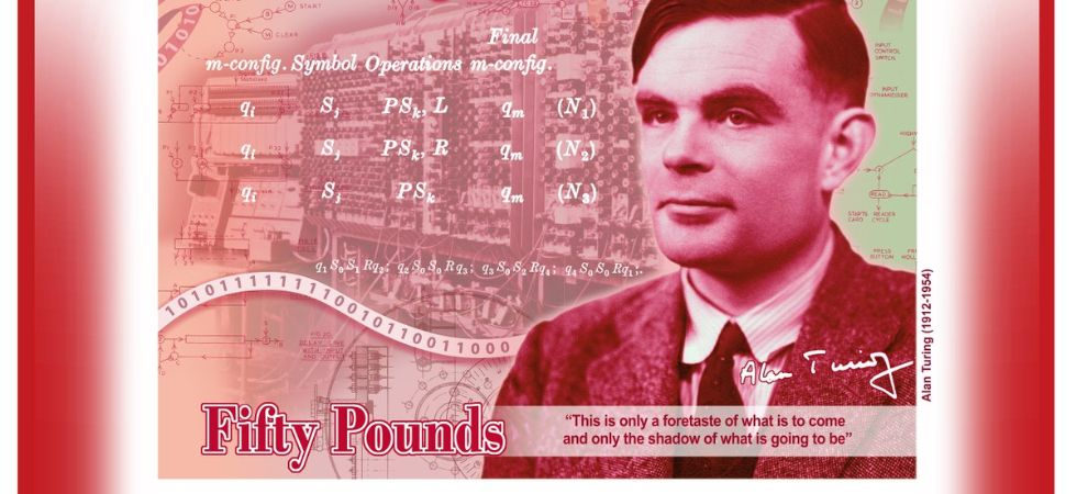 While best known for his work devising code-breaking machines during World War II, Alan Turing played a pivotal role in the development of early computers. (Photo credit: Twitter)