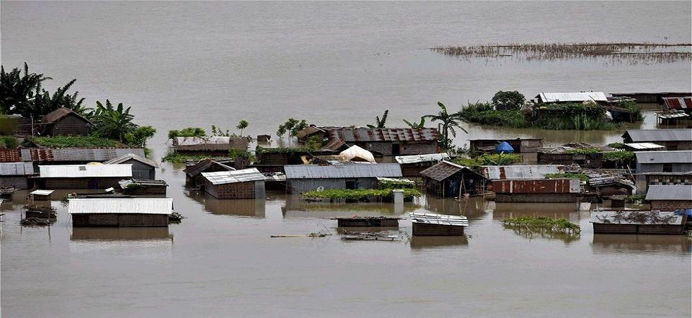 In Assam, the deluge has affected 33 districts of the state and claimed 17 lives. (Photo: Twitter)