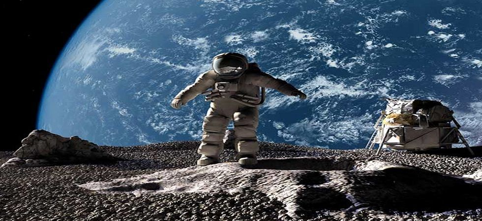 Collins remained in lunar orbit in the command module Columbia, their only means of returning back to Earth