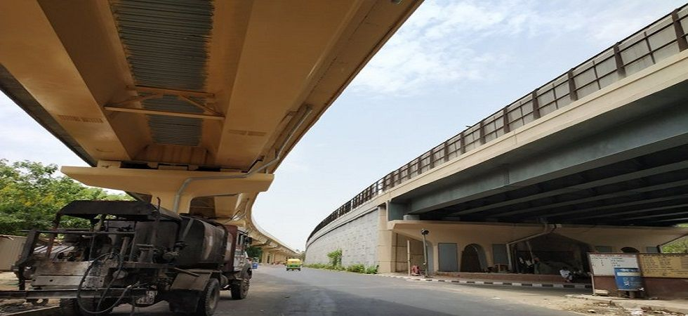 Arvind Kejriwal on Tuesday inaugurates the 2.85 km signal-free new RTR Flyover. (IANS photo)