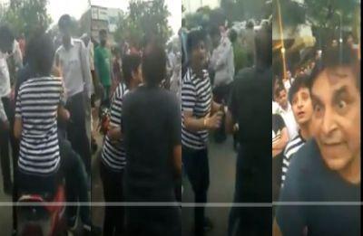 'Jaane do please…': Drunk woman, partner misbehave with cops in Mayapuri, watch video