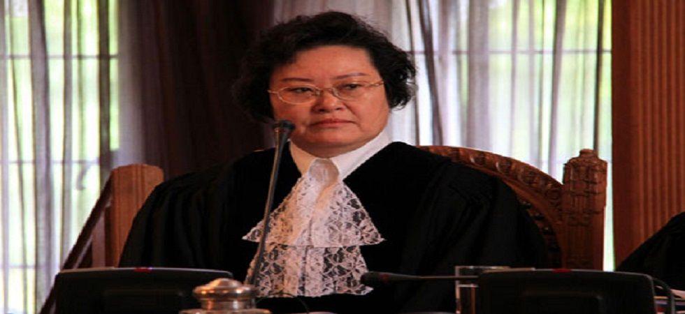 Judge Xue Hanqin of China.