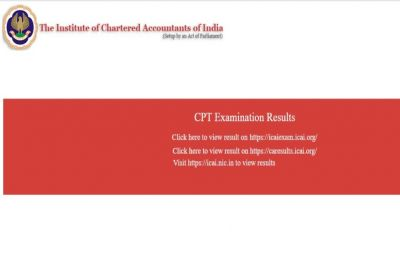 ICAI CA CPT June Session Exam 2019: Results out on icaiexam.icai.org