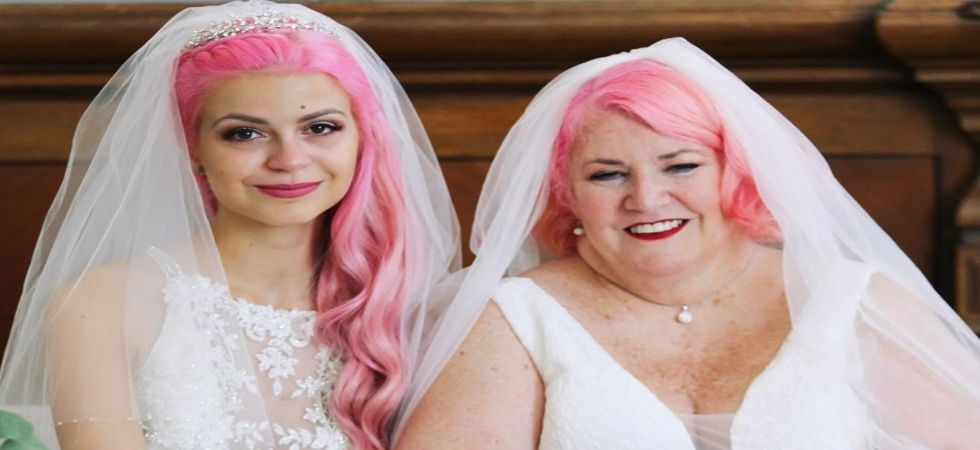 Lesbian couple mistaken as grandmother and granddaughter ties knot