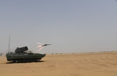 Video | At Pokhran, Indian Army 'successfully' conducts trials anti-tank guided missile NAG