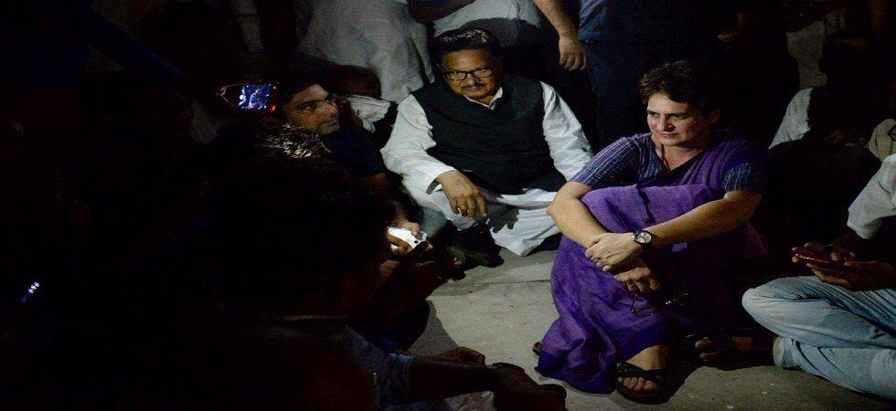 Congress leader Priyanka Gandhi Vadra (Twitter)