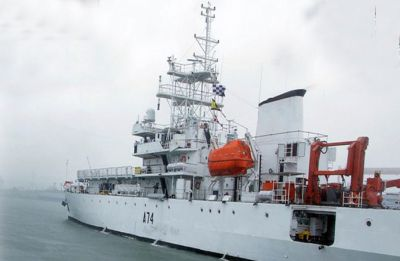 INS Sagardhwani flagged off from Kochi for SAGAR-MAITRI Mission-2: Navy