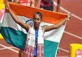 Hima Das' sensation run continues, returns to 400m event, wins 5th gold of month
