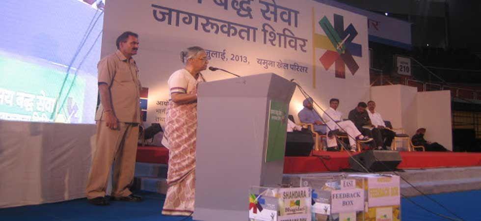 Sheila Dikshit took personal initiatives for the success of the Bhagidari scheme. (File Photo)