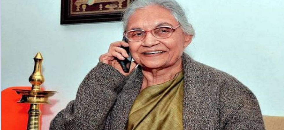 Former Delhi Chief Minister Sheila Dikshit (File Photo)