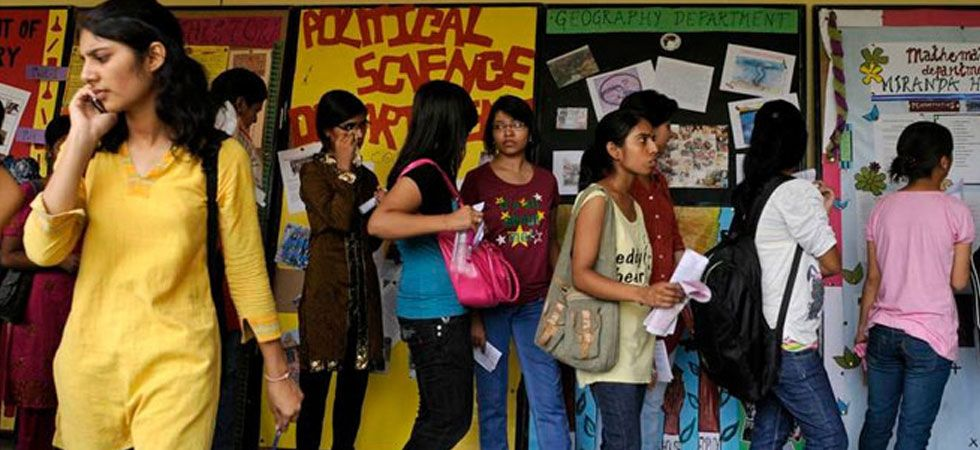 Students were provided information about the college, their curriculum and various other aspects of college life.