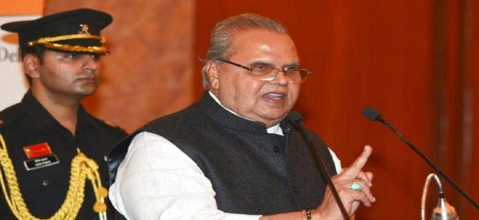Jammu and Kashmir Governor Satya Pal Malik. (PTI File)