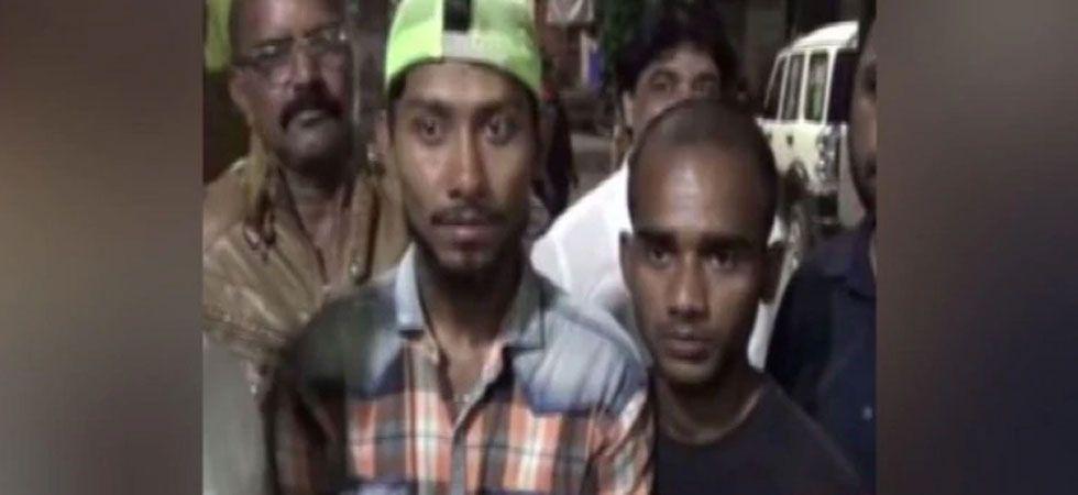 Shaikh Amer (24) and his friend Shaikh Nasir (26) was threatened and forced to chant 'Jai Shri Ram' slogans. (ANI Photo)