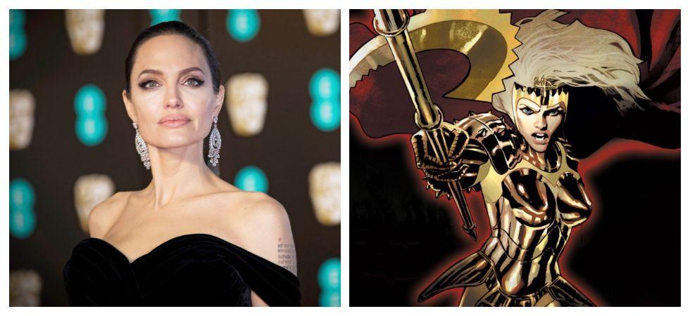 Angelina Jolie joins MCU in 'The Eternals' (Photo: Twitter)
