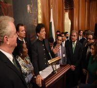 Vajpayee, Musharraf were 'pretty close' to resolve Kashmir: Imran Khan in US