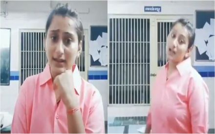 Lady cop suspended for making THIS TikTok video in Gujarat