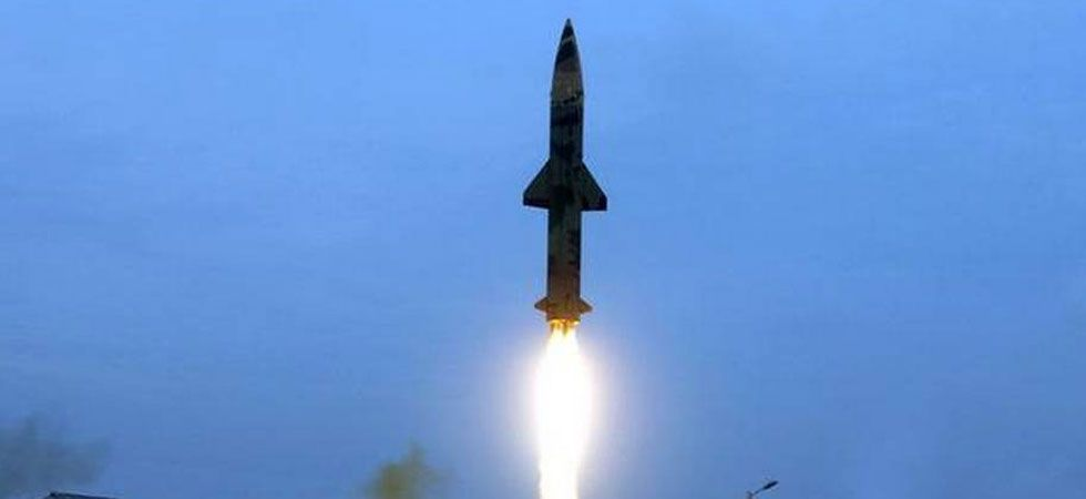 """Pyongyang last fired short-range missiles on May 9, which US President Donald Trump called """"very standard stuff"""". (File Photo)"""