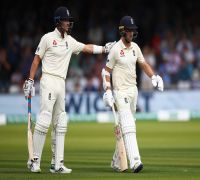 THIS England No.11 opens the batting, almost achieves history in Lord's Test vs Ireland and surprises his dad