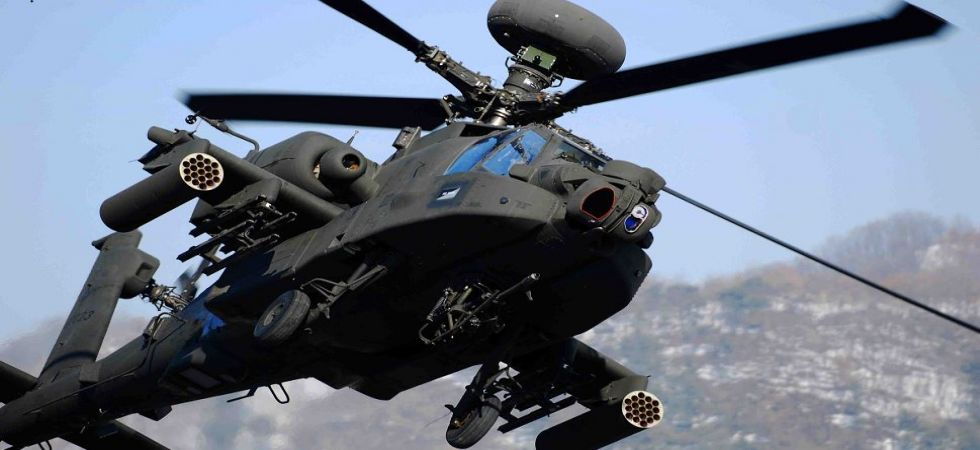 Apache attack helicopters (File Photo)