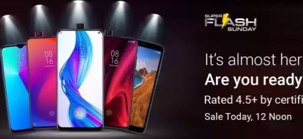Flipkart Super Flash Sale Sunday (Photo Credit: Flipkart)