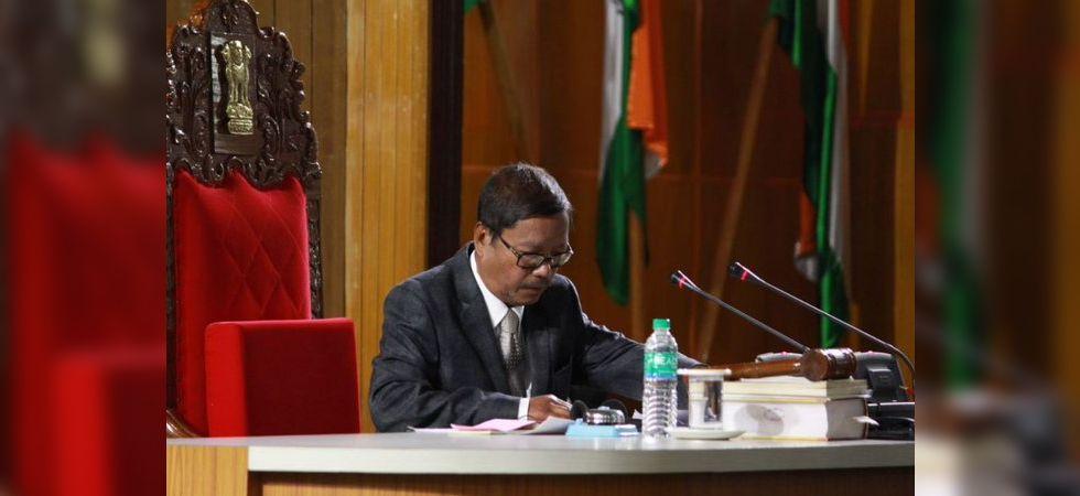 Meghalaya Assembly Speaker Donkupar Roy