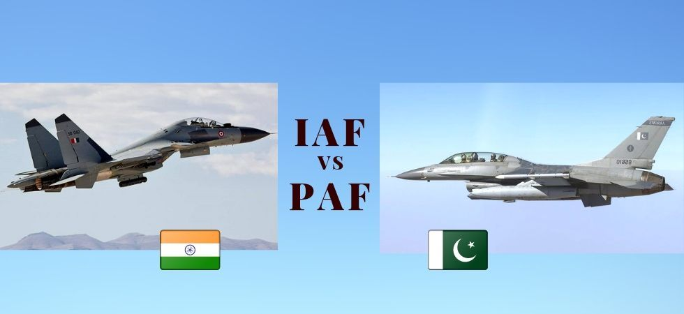 Indian Air Force Vs Pakistan Air Force (Photo Credit: Twitter)