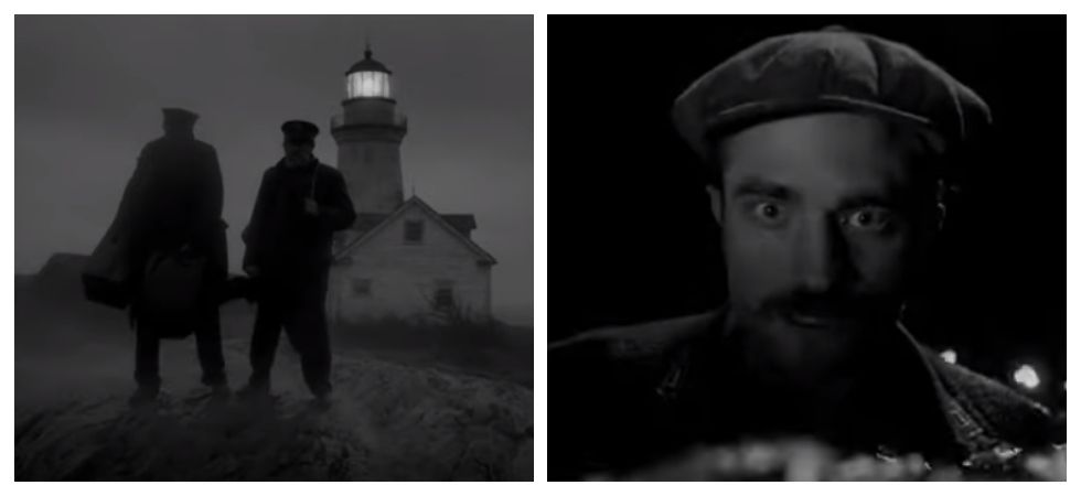 Robert Pattinson and Willem Dafoe's in 'The Lighthouse trailer' (Photo: YouTube)