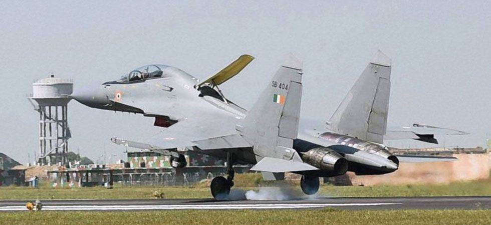 Barely five days ago, a Sukhoi aircraft was hit by a bird during its routine sortie.  (File Photo)