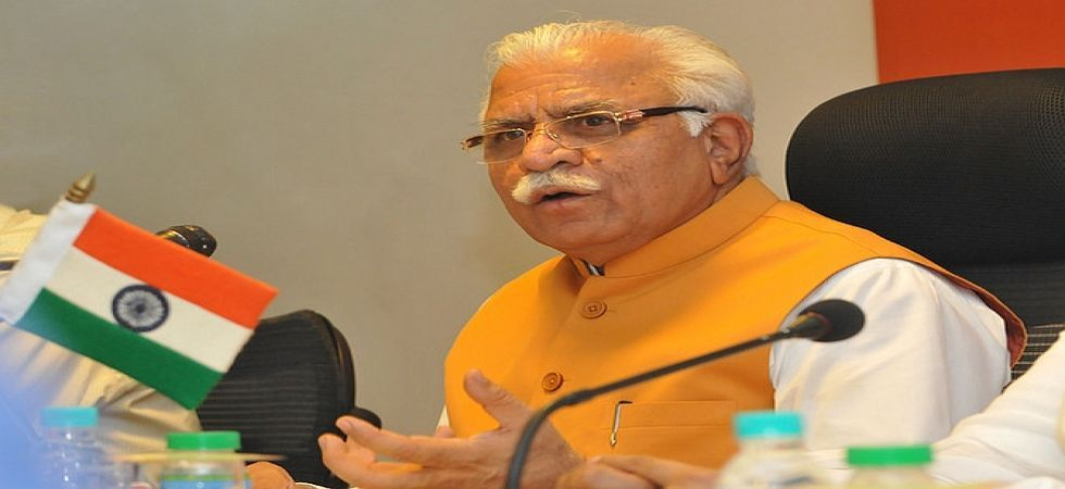 Haryana CM Manohar Lal Khattar has approved a proposal for compulsory retirement of IPS Vinod Kumar. (File Photo)