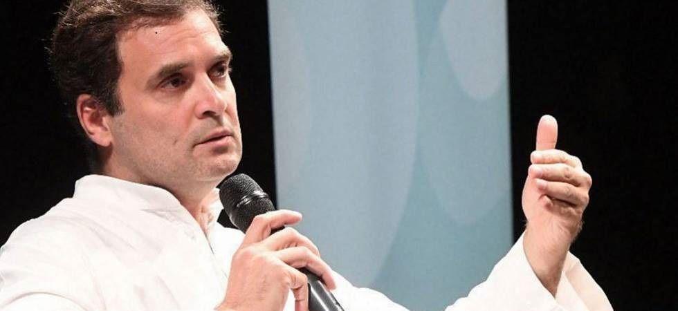 Congress leader Rahul Gandhi (File Image)